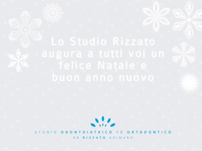 Buone Feste Studio Odontoiatrico Ed Ortodontico Dr Rizzato Adimaro